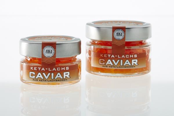 Keta Lachs Kaviar im Glas