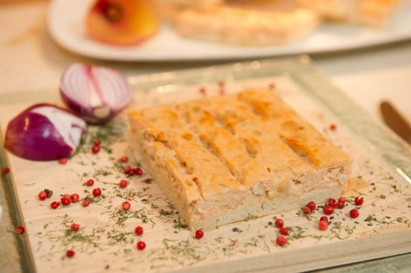 Lachs-Zwiebelkuchen