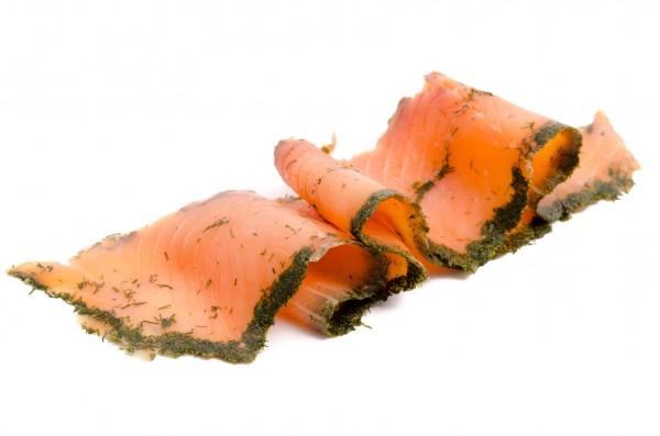 Schottischer Gravadlachs geschnitten Wester Ross