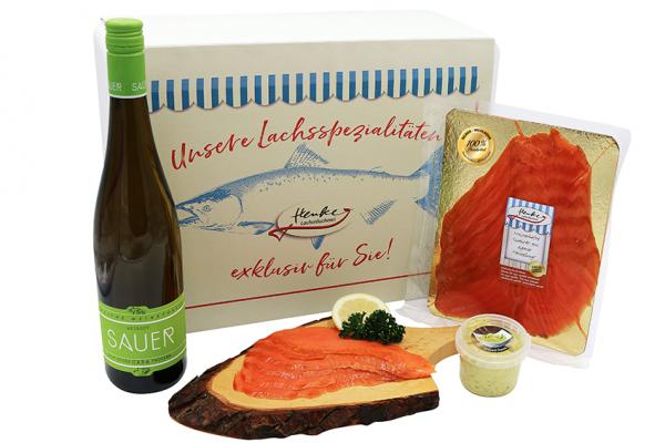 Gourmet-Präsent Silber-Wildlachs
