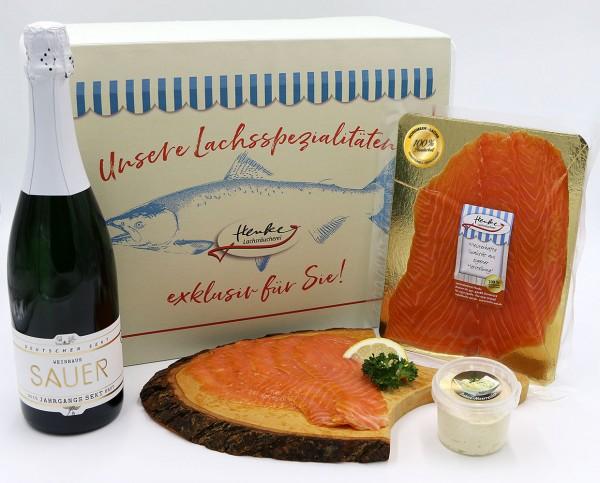 Gourmet-Präsent Nordmeer-Räucherlachs