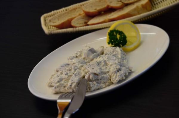 Delikatess Joghurt-Heringstopf