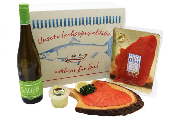 Gourmet-Präsent Rot-Wildlachs