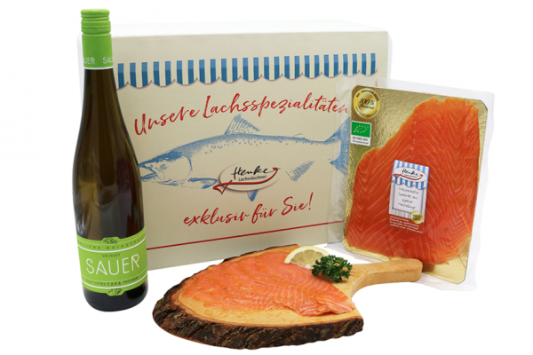 Gourmet-Präsent Bio-Räucherlachs (DE-ÖKO-006)