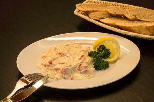 Räucherlachs-Salat