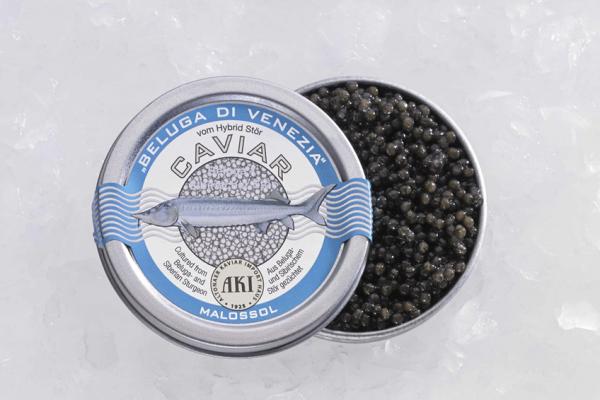 AKI Prestige Beluga di Venezia Caviar