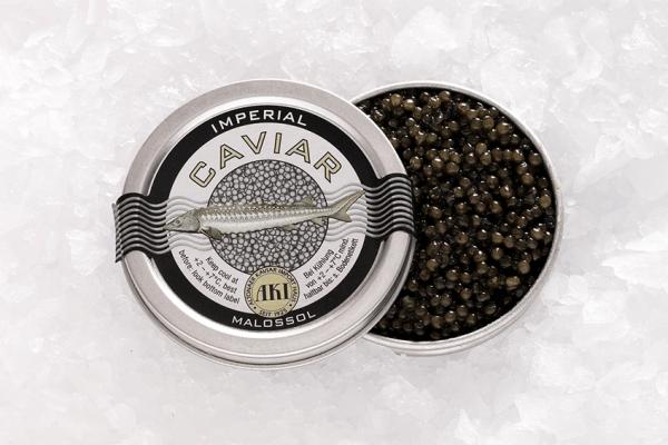 AKI Ossetra Imperial Caviar