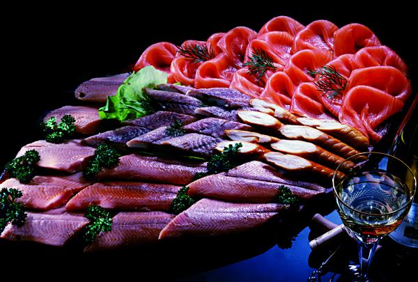 Fischplatte Kleine Genussmomente